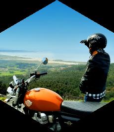 Rutas en moto de carretera por Galicia