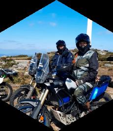 Rutas en moto de trail por Galicia
