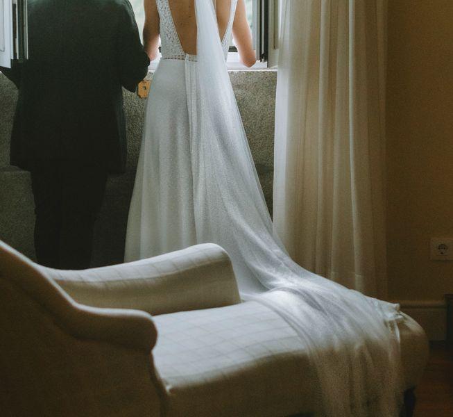 la-novia-junto-a-wedding-planner-de-pazo-do-tambre