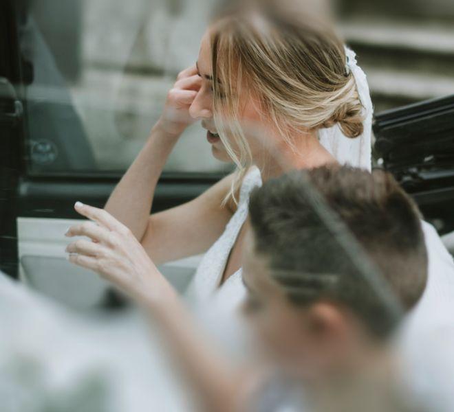 llegada-en-coche-de-la-novia-a-su-boda-pazo-santiago