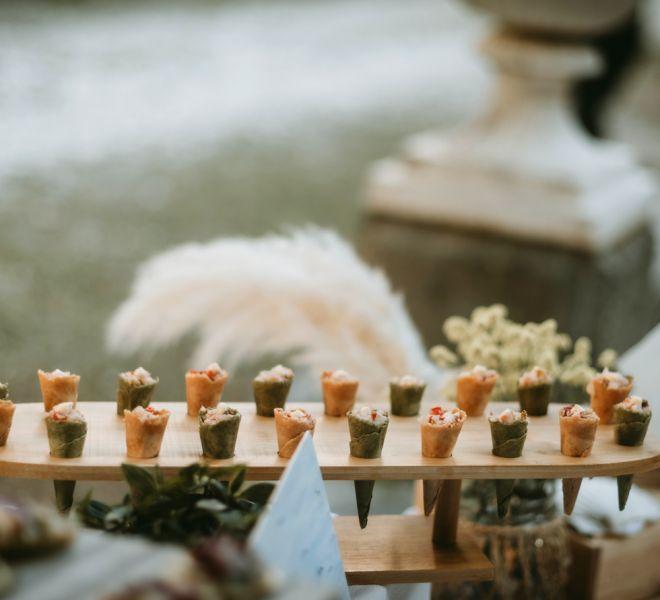 aperitivos-frios-para-bodas-pazo-cerca-de-santiago